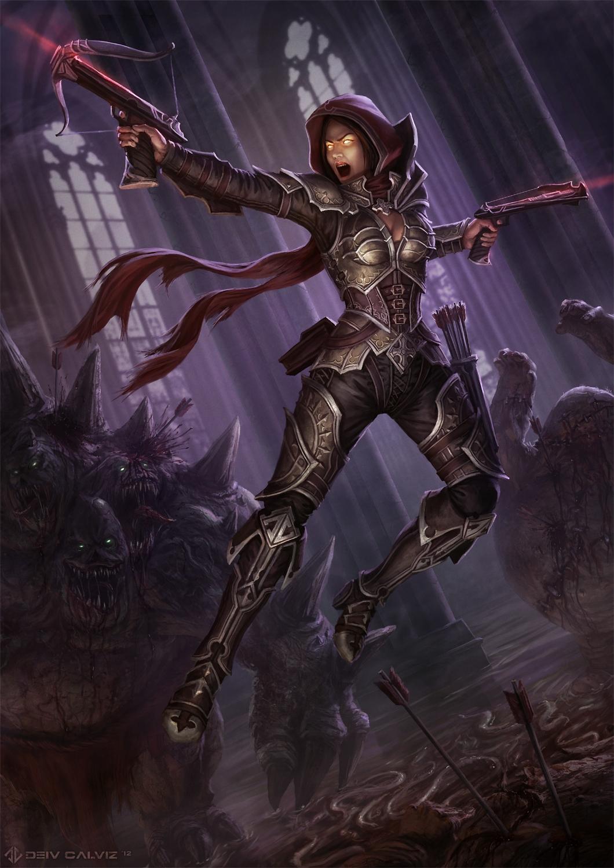 Diablo 3 Demon Hunter Fan Art