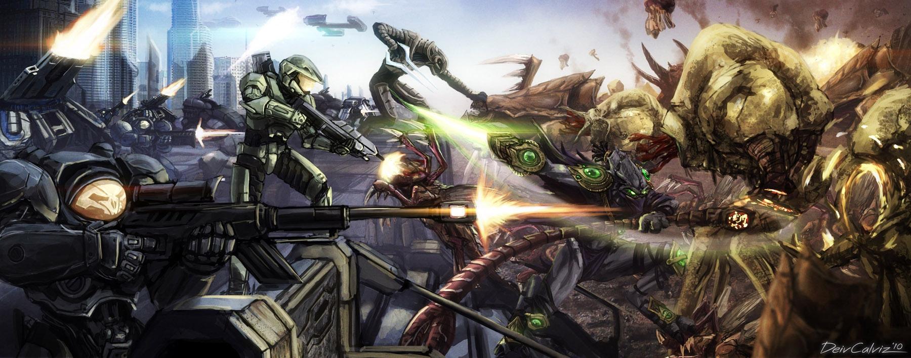 Starcraft x Halo