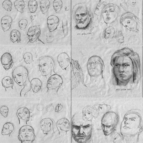 Head Studies 001